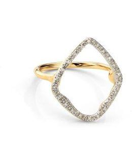 Riva Hoop Diamond Ring