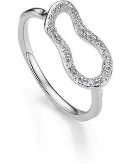 Riva Mini Pod Vermeil Diamond Ring