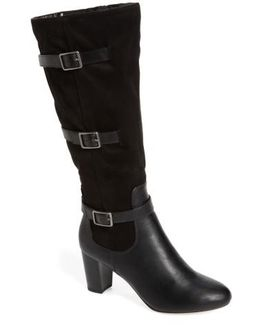 Talina Ii Belted Knee High Boot