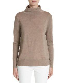 Merino Wool Modern Turtleneck Sweater