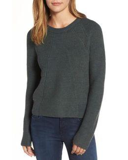 Engineered Stitch Sweater