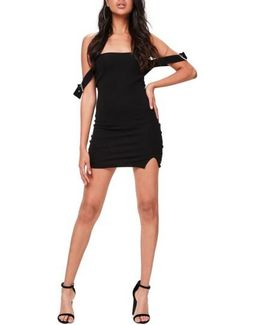 Bardot Buckled Body-con Dress