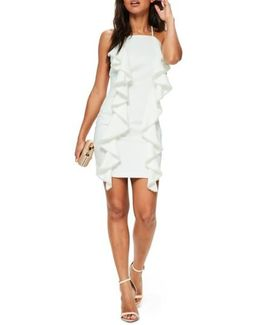 Frill & Pearl Body-con Dress
