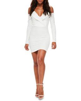 Bardot Foldover Body-con Dress