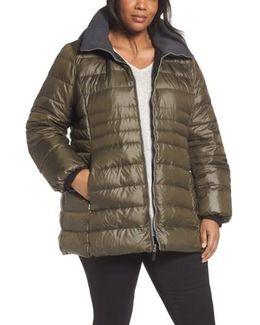 Erin Hooded Down Coat