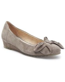 Martina Bow Ballet Wedge