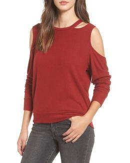 Earl Cold Shoulder Sweatshirt