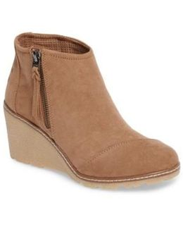 Avery Wedge Bootie