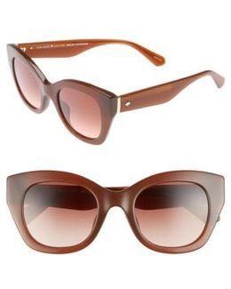 Jalena 49mm Gradient Sunglasses