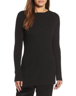 Ribbed Tencel Sweater