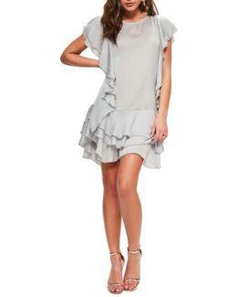 Layered Ruffle Minidress