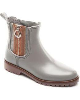 Zip Rain Boot