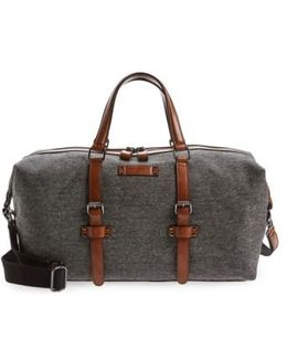 Tailor Wool Duffel Bag