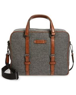 Digger Wool Briefcase