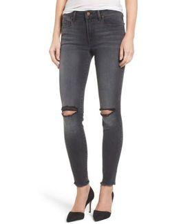 Sola Distressed Skinny Jeans