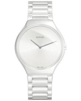 R27957012 Unisex True Thinline Ceramic Bracelet Strap Watch