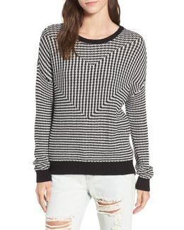 Light Up Stripe Sweater