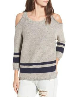 Marked Cold Shoulder Sweater
