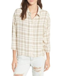 Drift Away Plaid Shirt