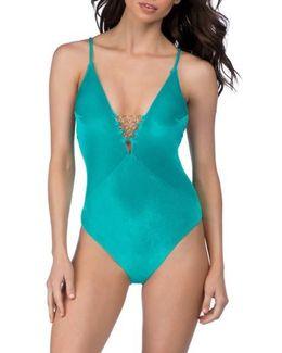 Velveteen Underground One-piece Swimsuit