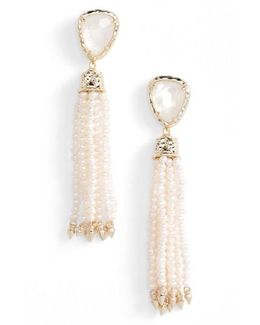 Blossom Tassel Drop Earrings