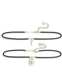 Sunny Set Of 2 Choker Necklaces