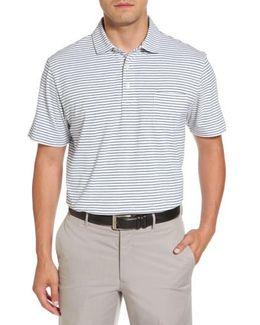 Stratton Mountainside Stripe Jersey Polo