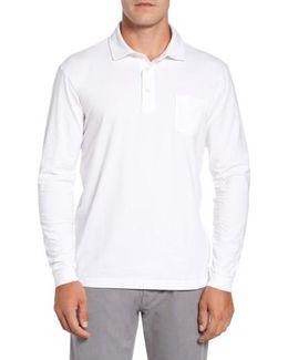 Mountainside Long-sleeve Pocket Polo