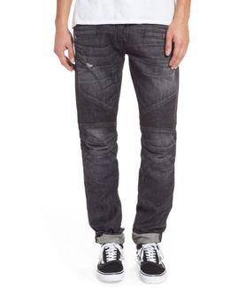 Blinder Biker Moto Skinny Fit Jeans