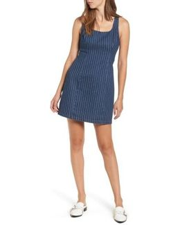Stripe Denim Dress