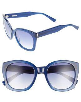 Sadie 54mm Sunglasses - Ink