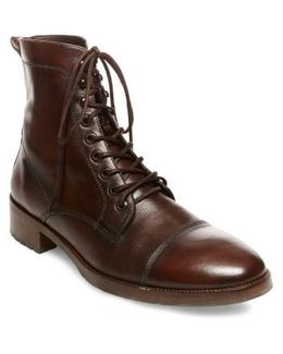 X Gq Ted Cap Toe Boot