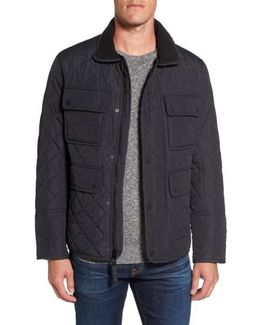 4-pocket Quilted Jacket