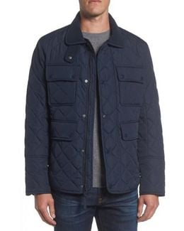 4-pocket Quilted Jacket