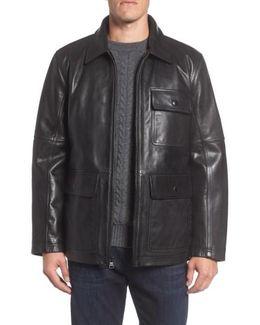 Bakers Calfskin Leather Jacket