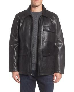 Bakers Calfskin Leather Jacket