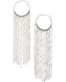 Waterfall Hoop Earrings