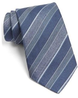 John Varvatos Star Usa Stripe Silk Blend Tie
