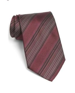 John Varvatos Star Usa Stripe Silk Tie