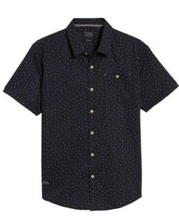 New Tradition Print Woven Shirt