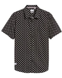 Shadow Dancing Print Woven Shirt