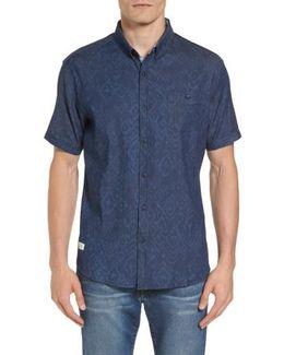 Marquee Moon Print Woven Shirt