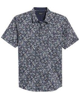 Still Standing Print Woven Shirt