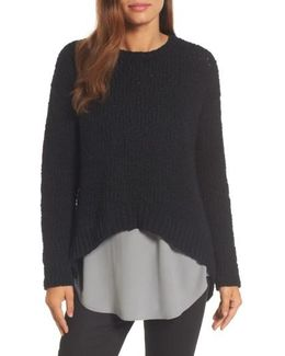 High/low Organic Cotton Sweater