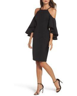 Laguna Cold Shoulder Sheath Dress