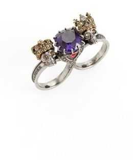 Jewel Double Ring