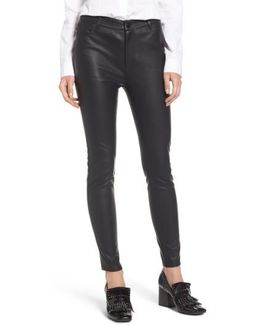 Thrill Seeking Faux Leather Pants