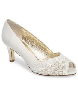 Jude Peep Toe Pump