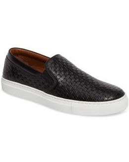 Ashlynn Embossed Slip-on Sneaker