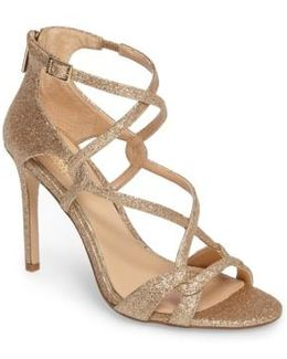 Aliza Strappy Glitter Sandal
